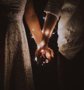 Hands of Man & Woman